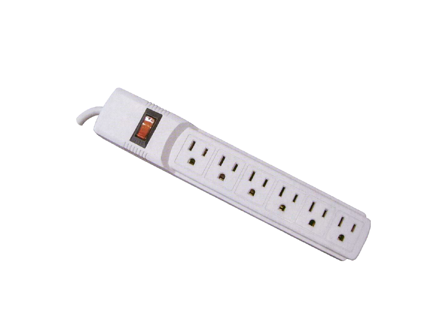 Multi Socket Outlet GL-06-PT6677