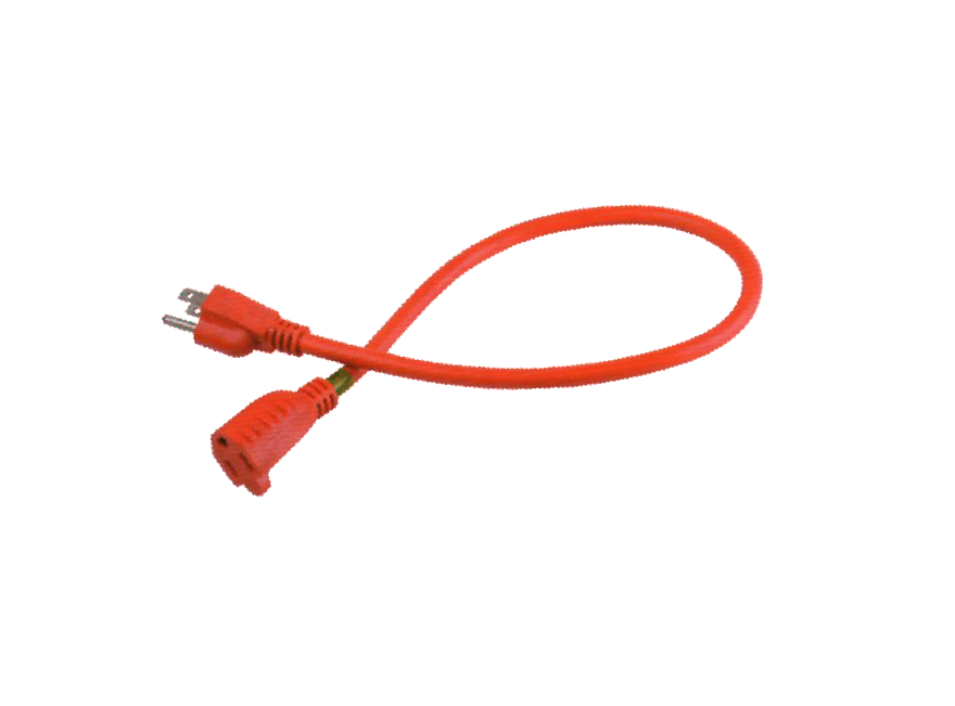 12IN.OUTLET EXTENDED POWER CORD