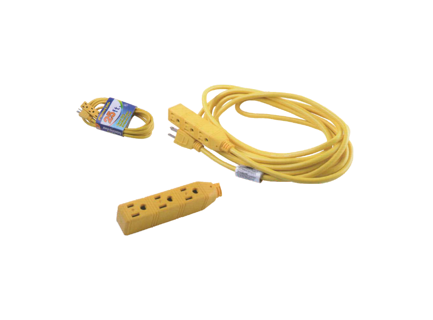 3-OUTLET UTILITY EXTENSION CORD