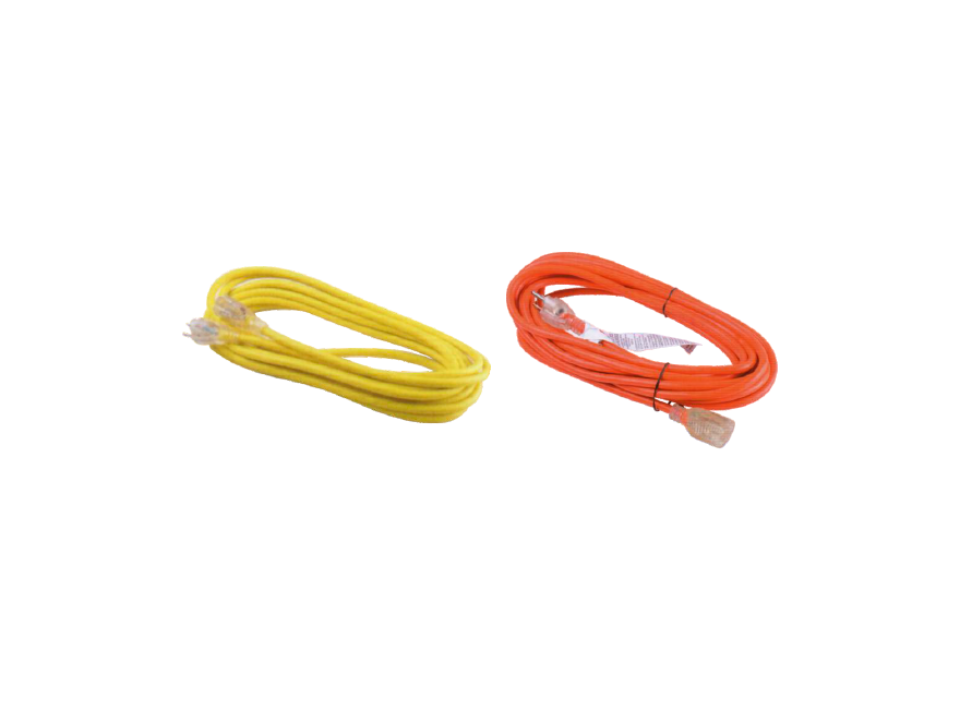 OUTDOOR EXTENSION CORD WITH INDICATOR LIGHT